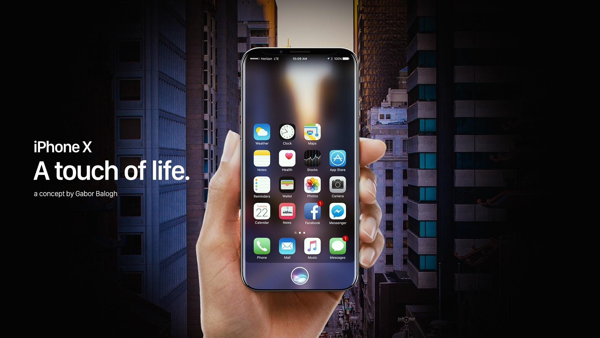 """Vaadake ilusat kontseptsiooni, kuidas """"iPhone X"""" välja näeb"""