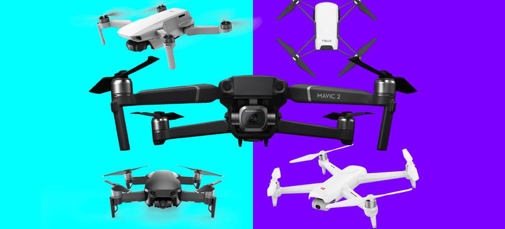 Vaadake parimat DRONE-i, mida mustal reedel osta [+UPDATE]