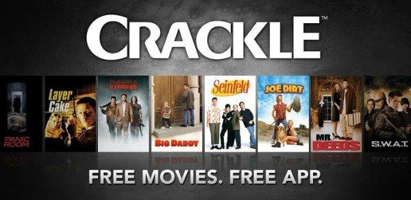 Vaadake tasuta filme Crackle'iga oma Androidis