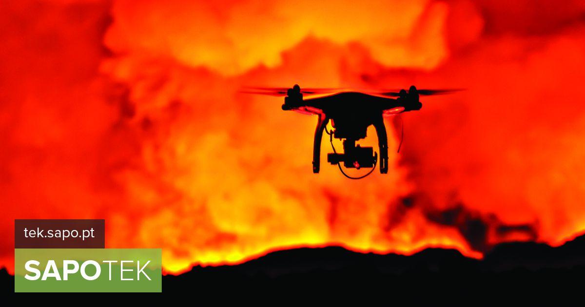 """Valitsusel on tulekahjude likvideerimisel uus """"abiline"""". Juunis saabus maale 12 drooni - varustus"""