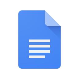 Google Docs'i rakenduse ikoon