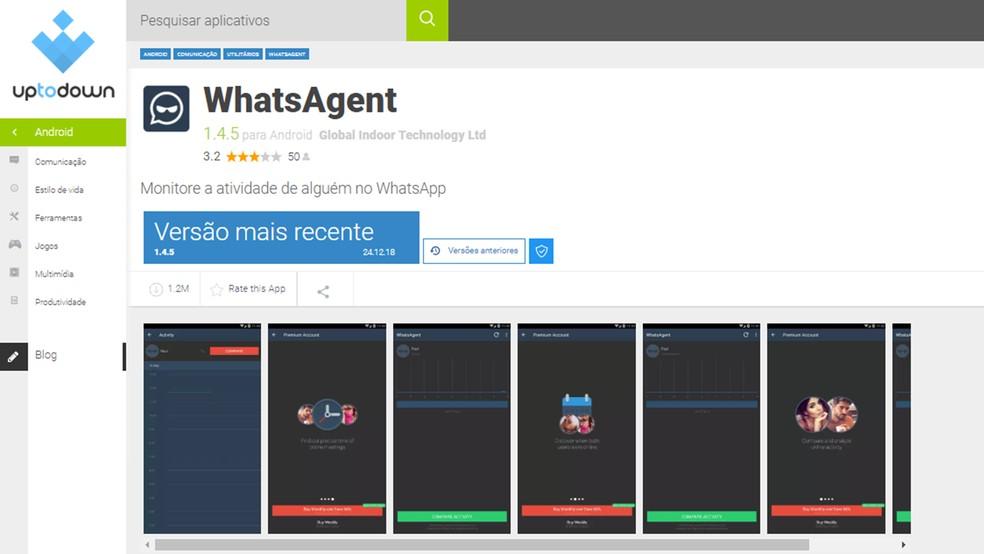 Alternatiivne Androidi pood, kus kuvatakse sama nime ja liidesega rakendusi, mis on võetud Google Play poe fotodest: Reproduo / Paulo Alves