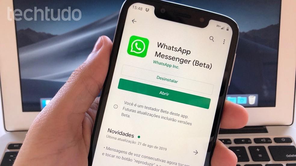Siit saate teada, kuidas Android-fotode jaoks WhatsApp Beta registreeruda: Reproduo / Helito Beggiora