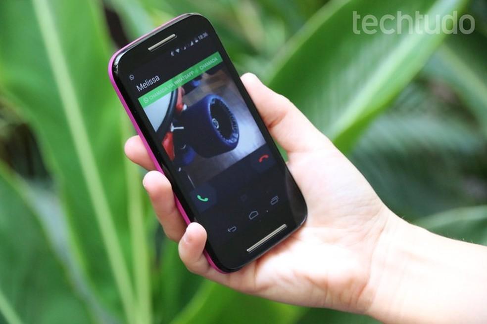 Uurige, kes teile helistab isegi teistel kõnedel WhatsAppiga Foto: Carol Danelli / TechTudo