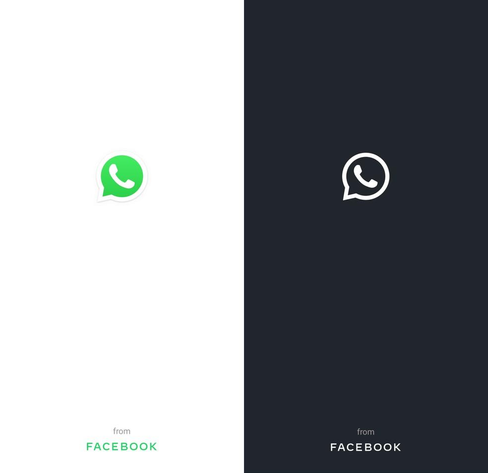 """Rakenduse esmakordsel avamisel ilmub ekraanile silt """"WhatsApp Facebookist"""". Foto: Reproduo / Paulo Alves"""