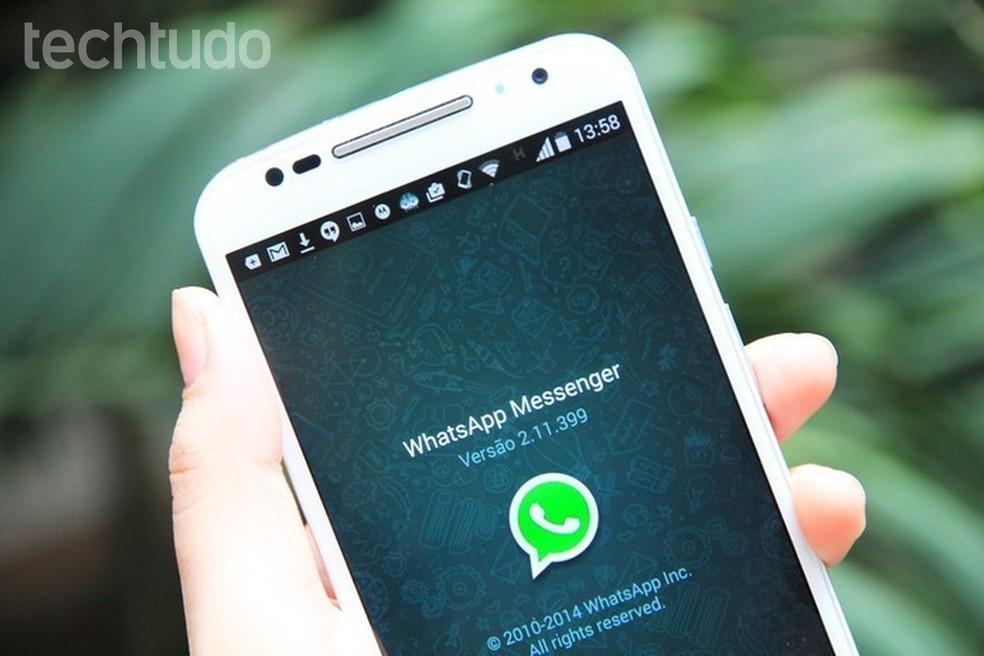 WhatsApp on novembris kõige allalaaditud rakendus maailmas Foto: Anna Kellen Bull / TechTudo