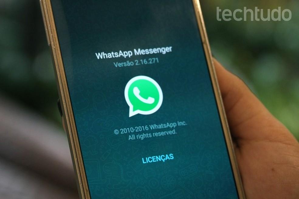 WhatsApp jõudis Google Play poodi 5 miljardi allalaadimiseni Foto: Carolina Ochsendorf / TechTudo