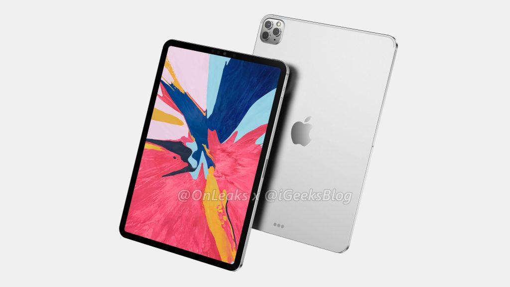 iPad Pro renderdamine
