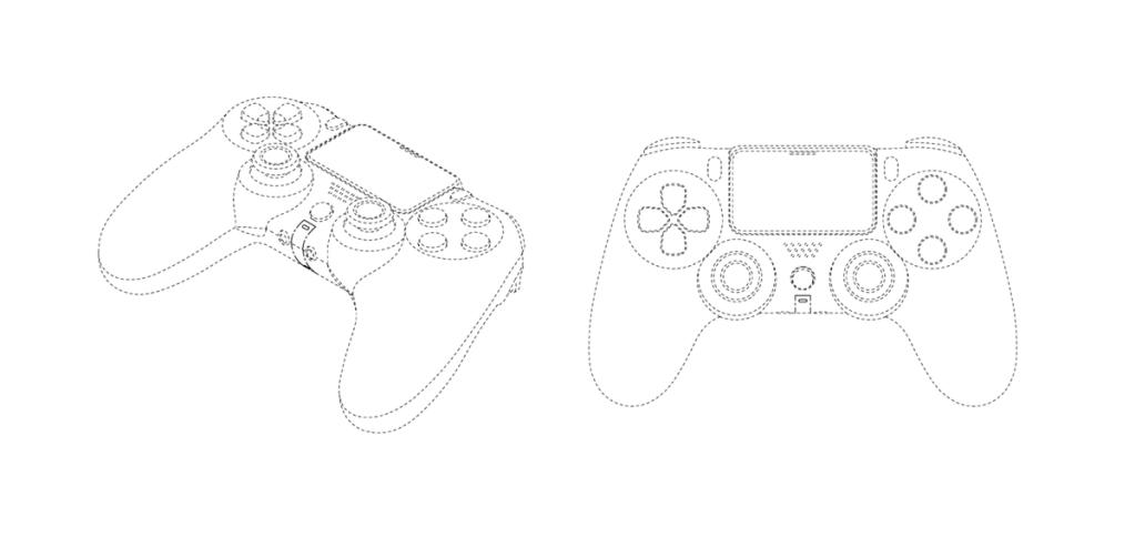 DualShock 5 patent näitab meile juhtnuppu, mis on väga sarnane PS4-ga (Foto: Reproduo)