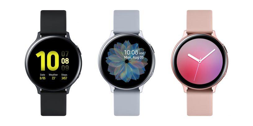 Galaxy Watch Active2-l on disain, mida peetakse lõbusaks ja mida saab reguleerida