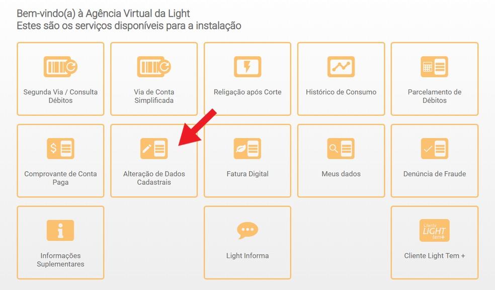 Virtuaalne valgusagentuur võimaldab teil registreerimisandmeid hõlpsalt ja kiiresti muuta.Foto: Reproduo / Ana Letcia Loubak