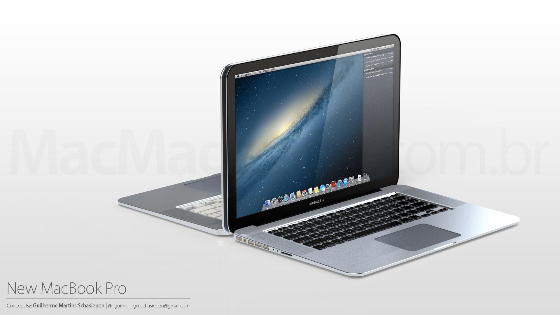Reader loob uue ägeda MacBooks Pro uue kontseptsiooni