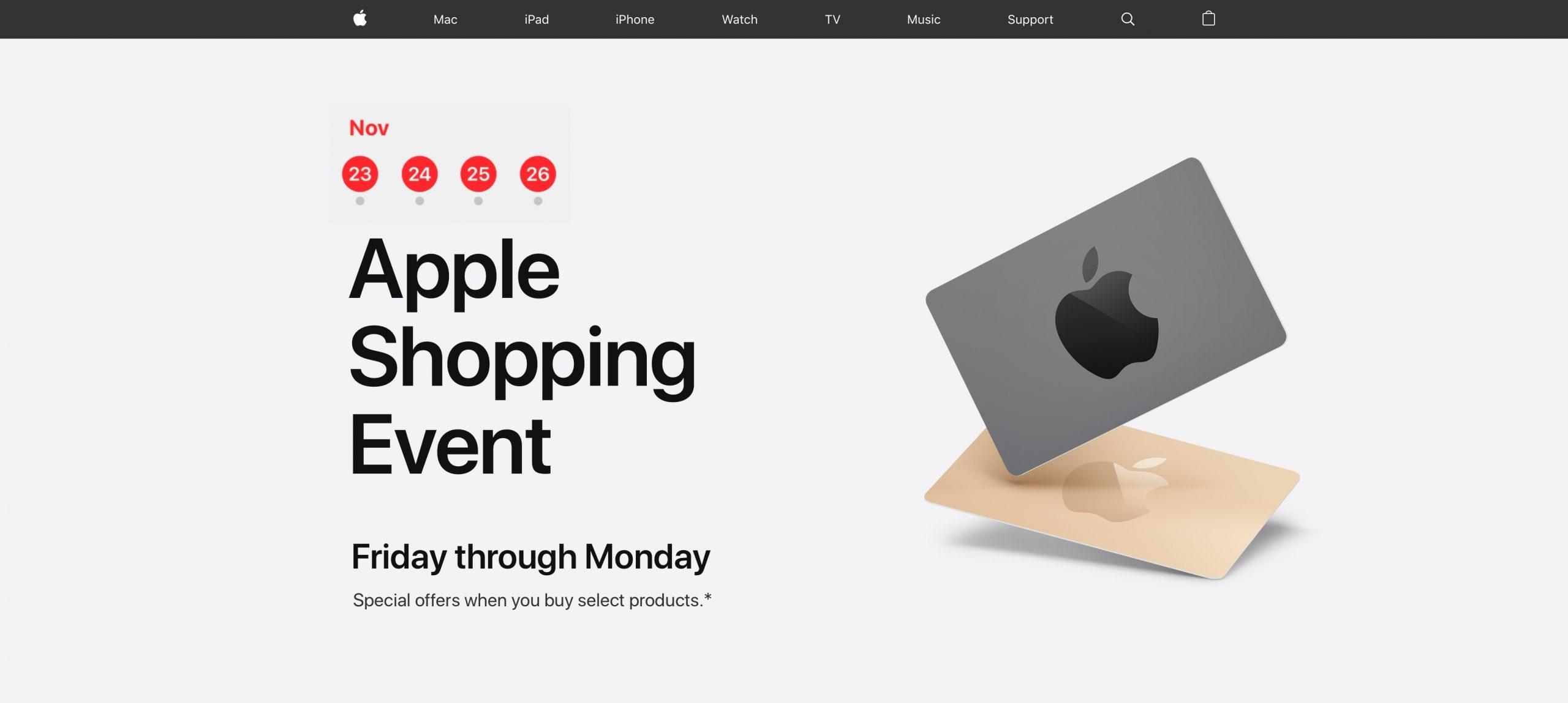 Apple teeb oma musta reede mitmes riigis, kuid Brasiilia on väljas