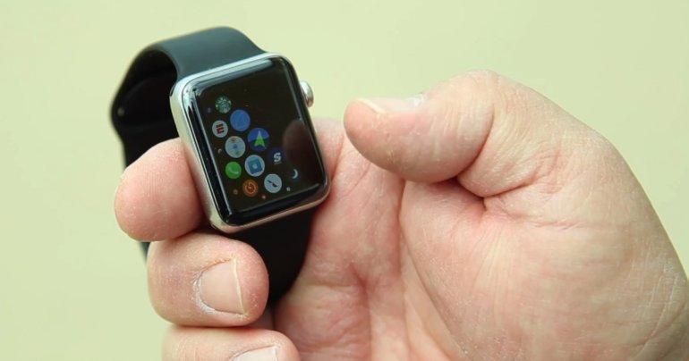 Robert Bainteri Apple Watch taastus korralikult ja toimis