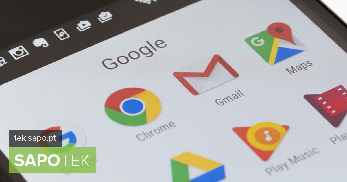 Androidi kasutajad pole enam välistatud.  Nüüd saate mõne sekundi jooksul Gmaili rakenduses kontosid vahetada