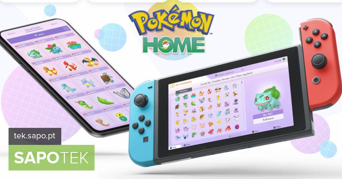 Pokémon Home: kõigi koletiste põlvkondade kodu on saabunud Androidi ja iOS-i süsteemidesse
