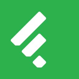 Feedly - rakenduse Smart News Reader ikoon