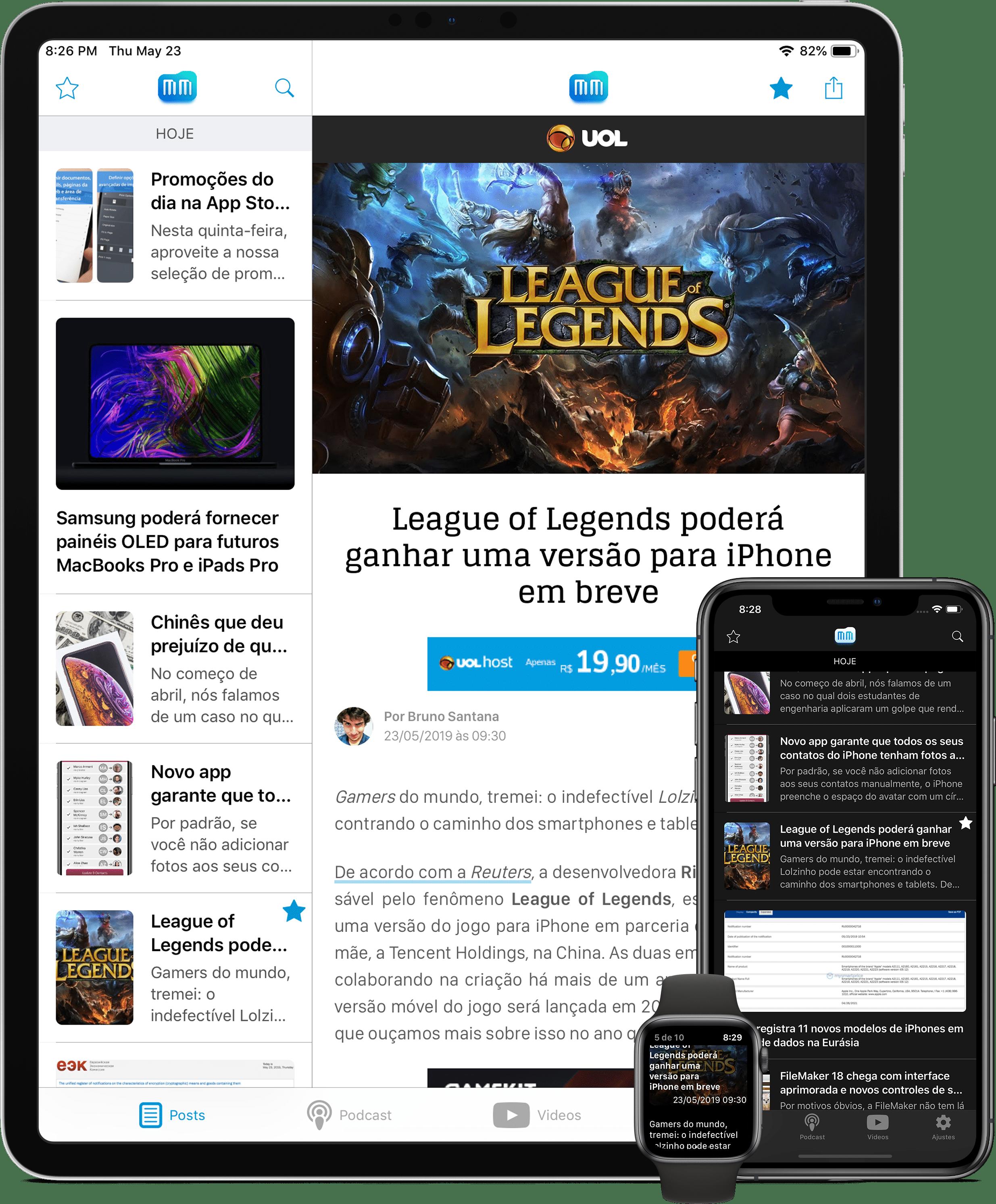MacMagazine 4.0.1 iOS / watchOS jaoks on nüüd saadaval App Store'is!