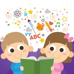 Eelkooliealiste laste õppemängu rakenduse ikoon