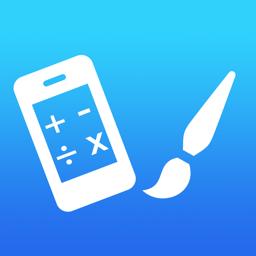 Joonistage rakenduse Math ikooniga