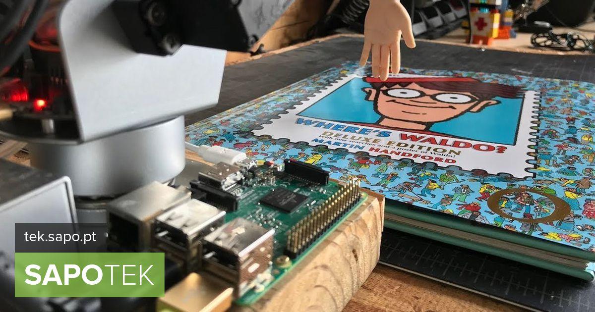 See robot teab väga hästi, kus Wally asub