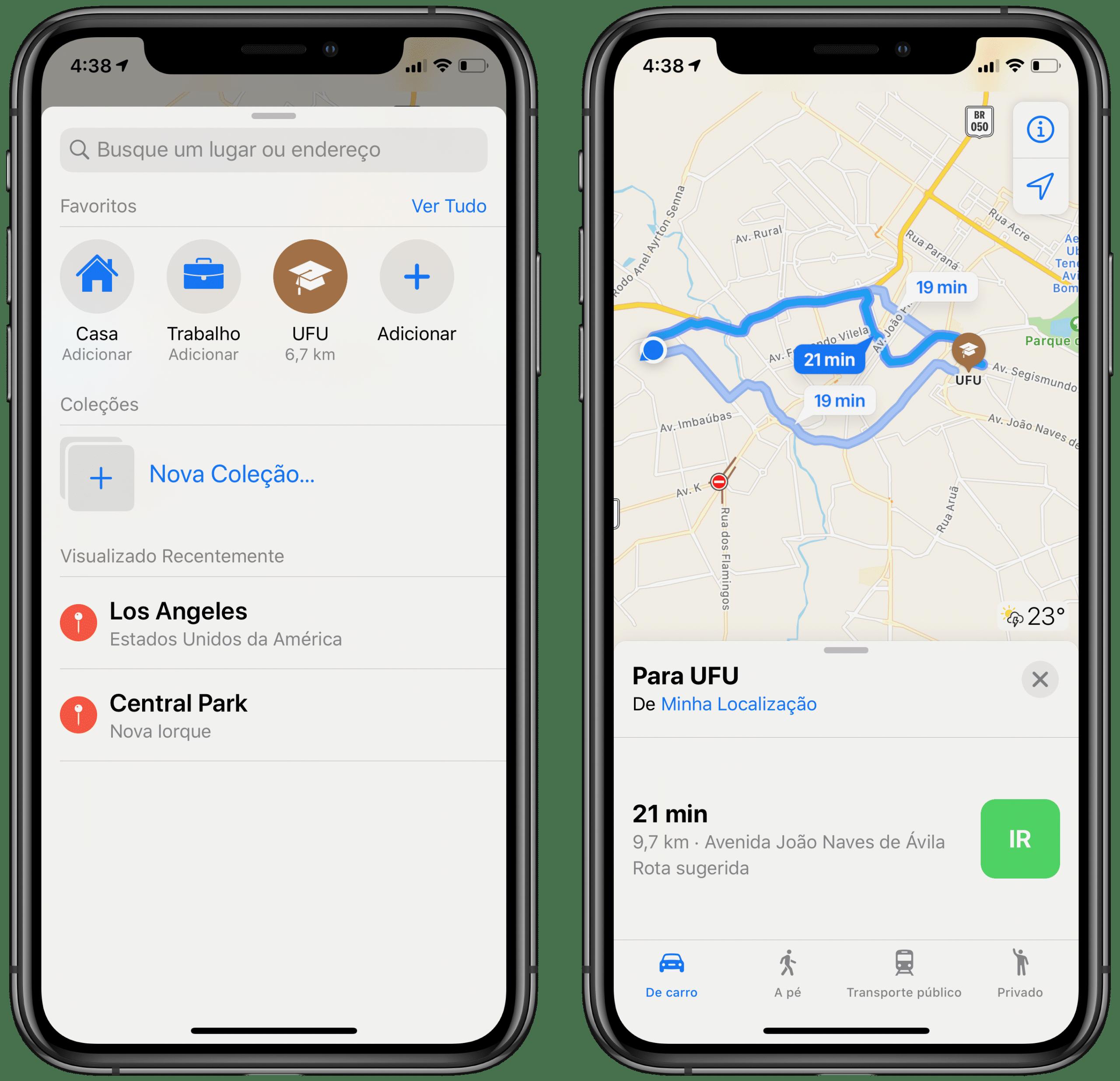 Apple Mapsi lemmikud