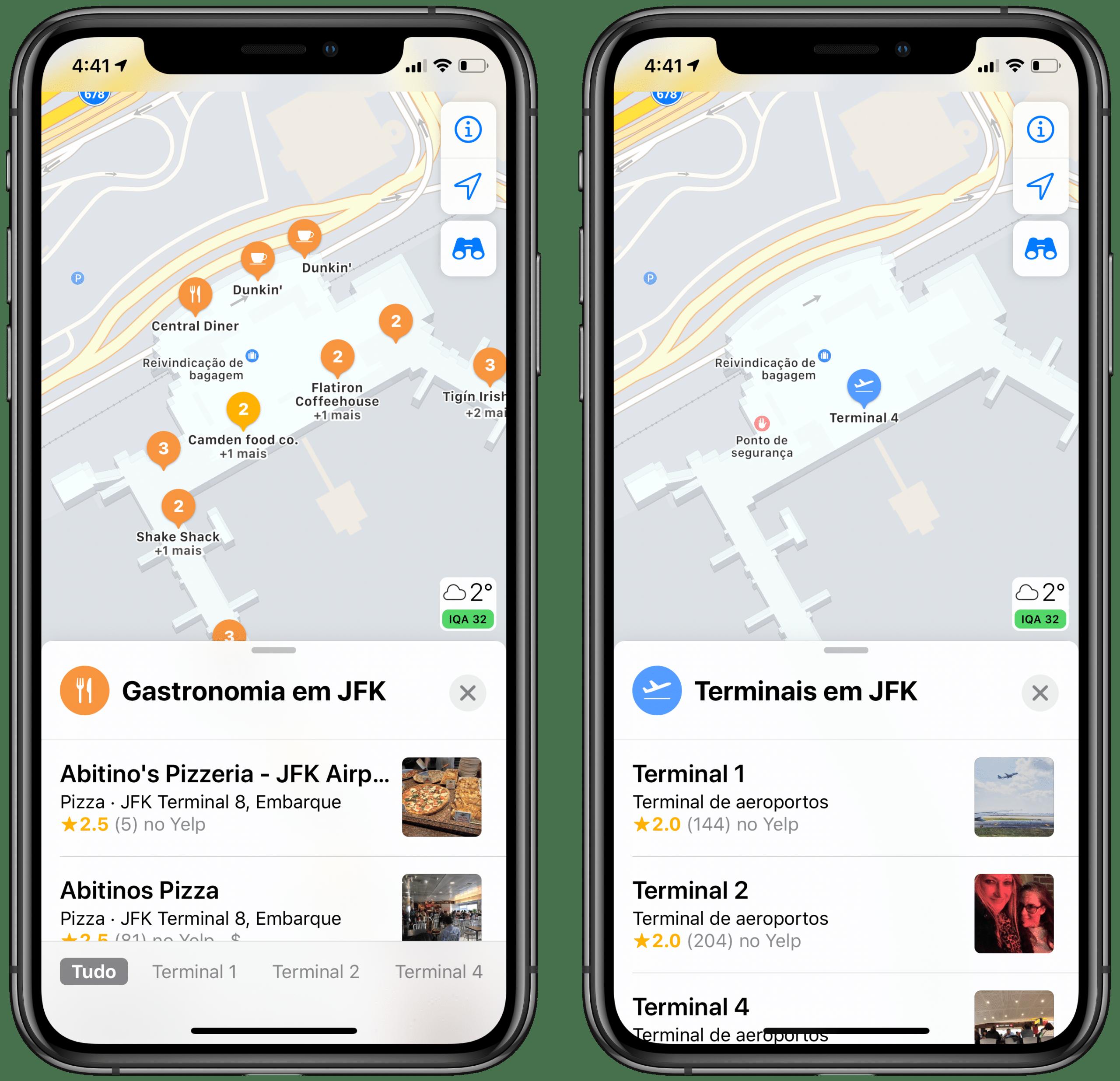 Sisekaardid Apple Mapsis