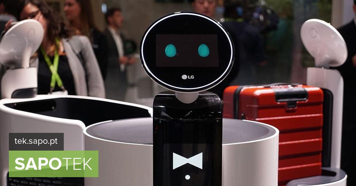 LG jätkab robotite kasutamist mitmes tööstusharus.  Supermarket on teie uus töökoht