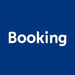 Booking.com reisipakkumiste rakenduse ikoon