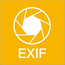 Rakenduse Power Exif ikoon - saate vaadata EXIF-i fotosid
