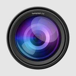 Rakenduse Textograph Pro ikoon: tekst fotol