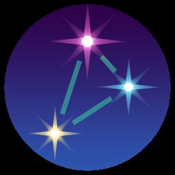 3D-tärni rakenduse ikoon