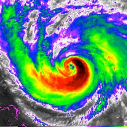 Riikliku orkaanikeskuse andmete rakenduse ikoon