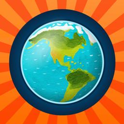 Paljajalu World Atlas rakenduse ikoon