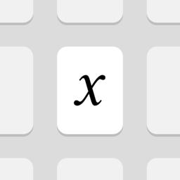 MathKey - rakenduse LaTeX Converter ikoon