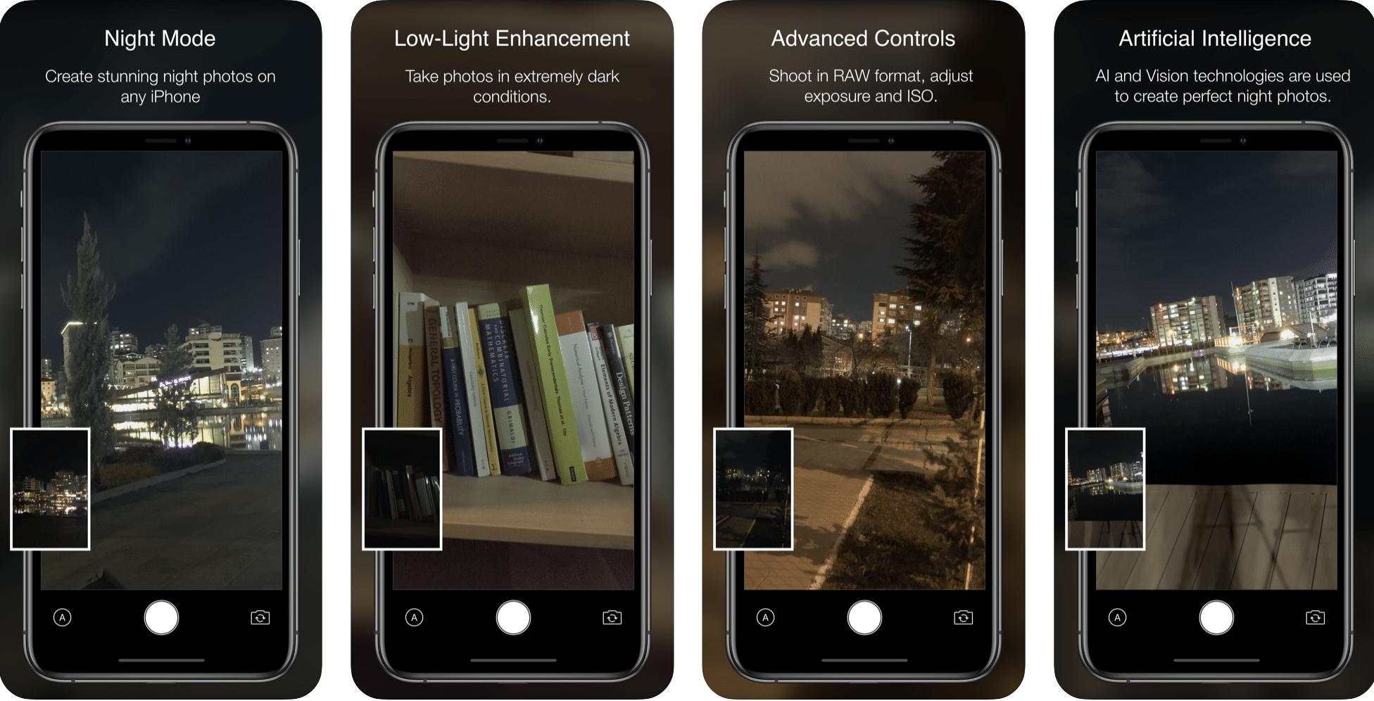Tänane pakkumine App Store'is: Nightcam, Arcade Watch Games, GRID Autosport ja palju muud!