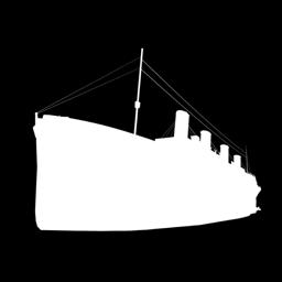 Sirvige rakenduse Titanic ikooni