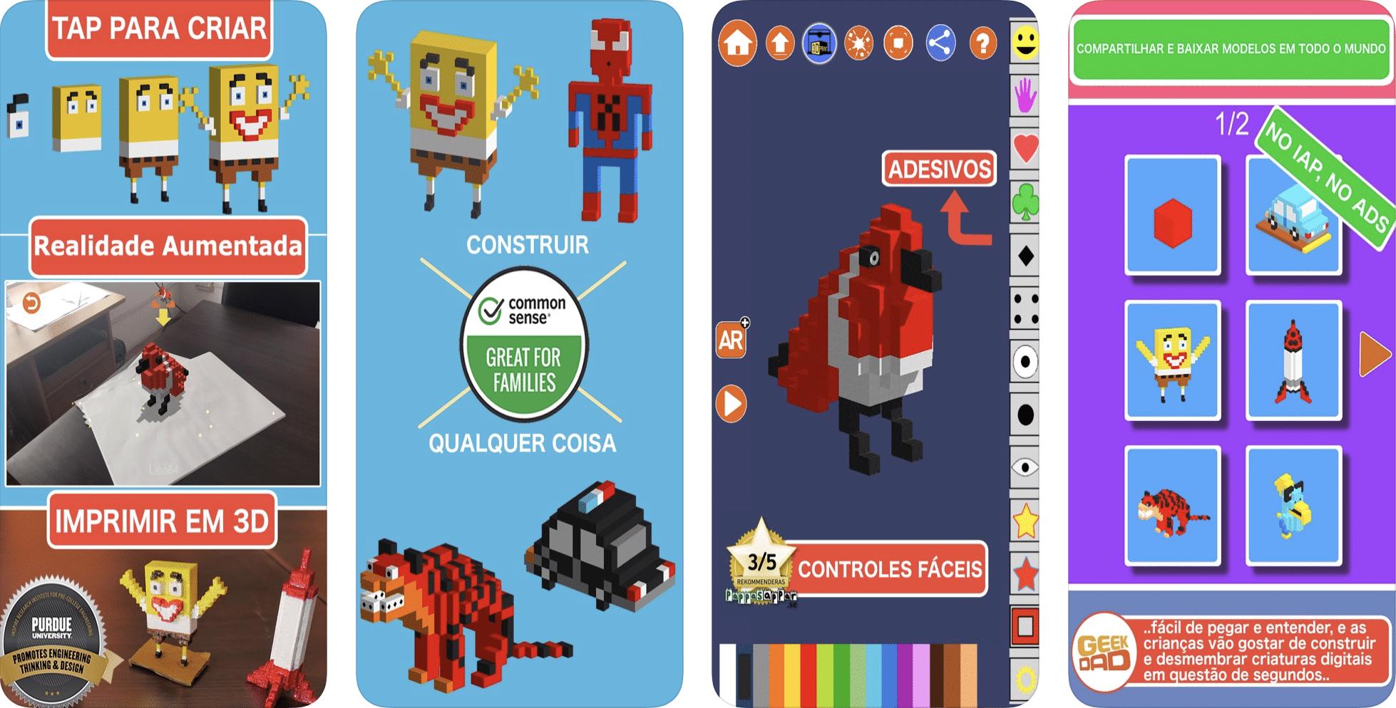 Tänased pakkumised App Store'is: Blox 3D Junior, LYNE, Earth 3D - Animal Atlas ja palju muud!