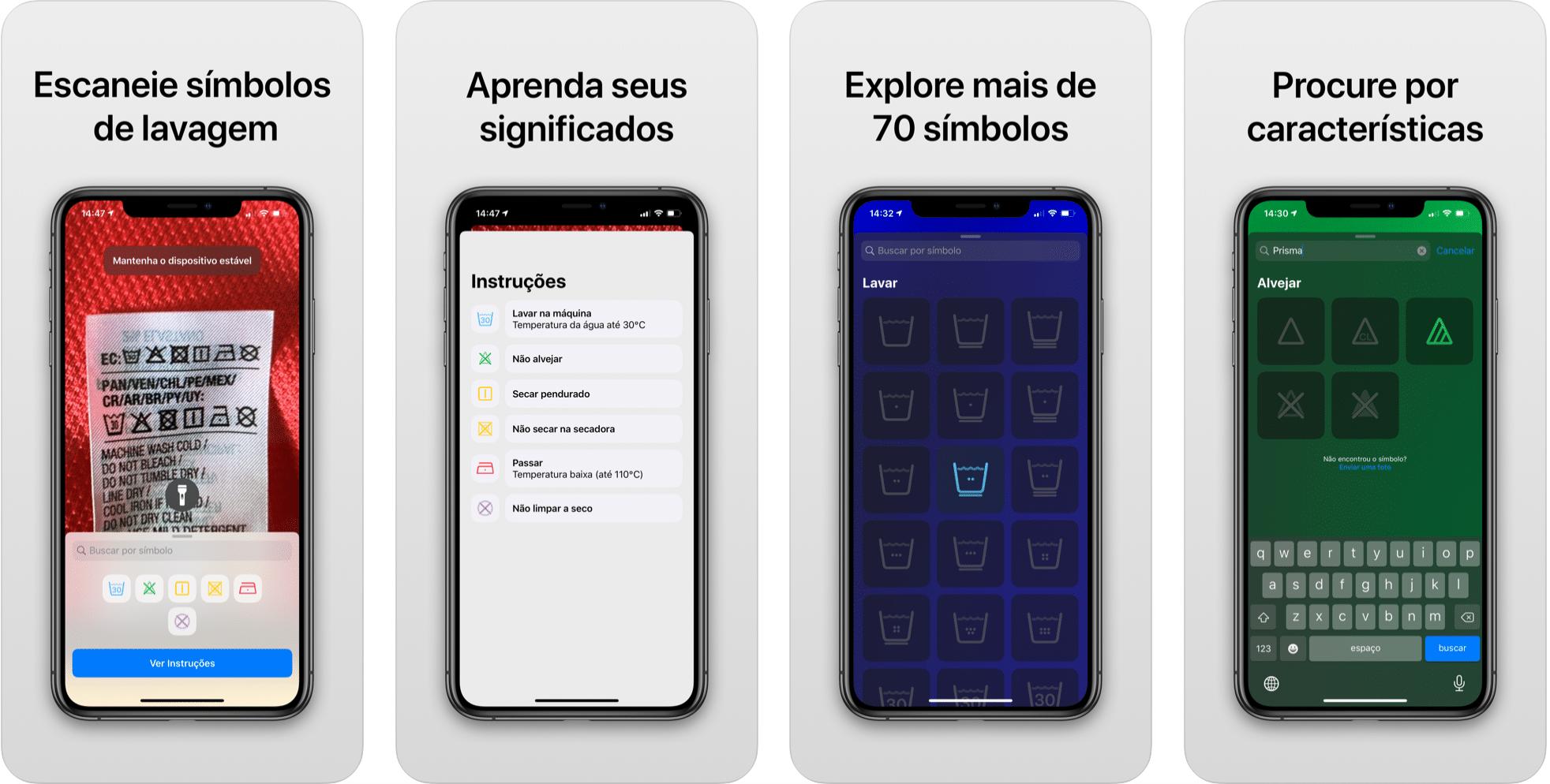 Brasiilia rakendus (ja see on tasuta!) Koos teie iPhone'i kaameraga on teie rõivamärgistel sümbolid