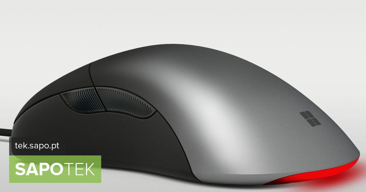 """Microsoft """"taaselustab"""" IntelliMouse Pro hiirt, keskendudes mängimisele"""