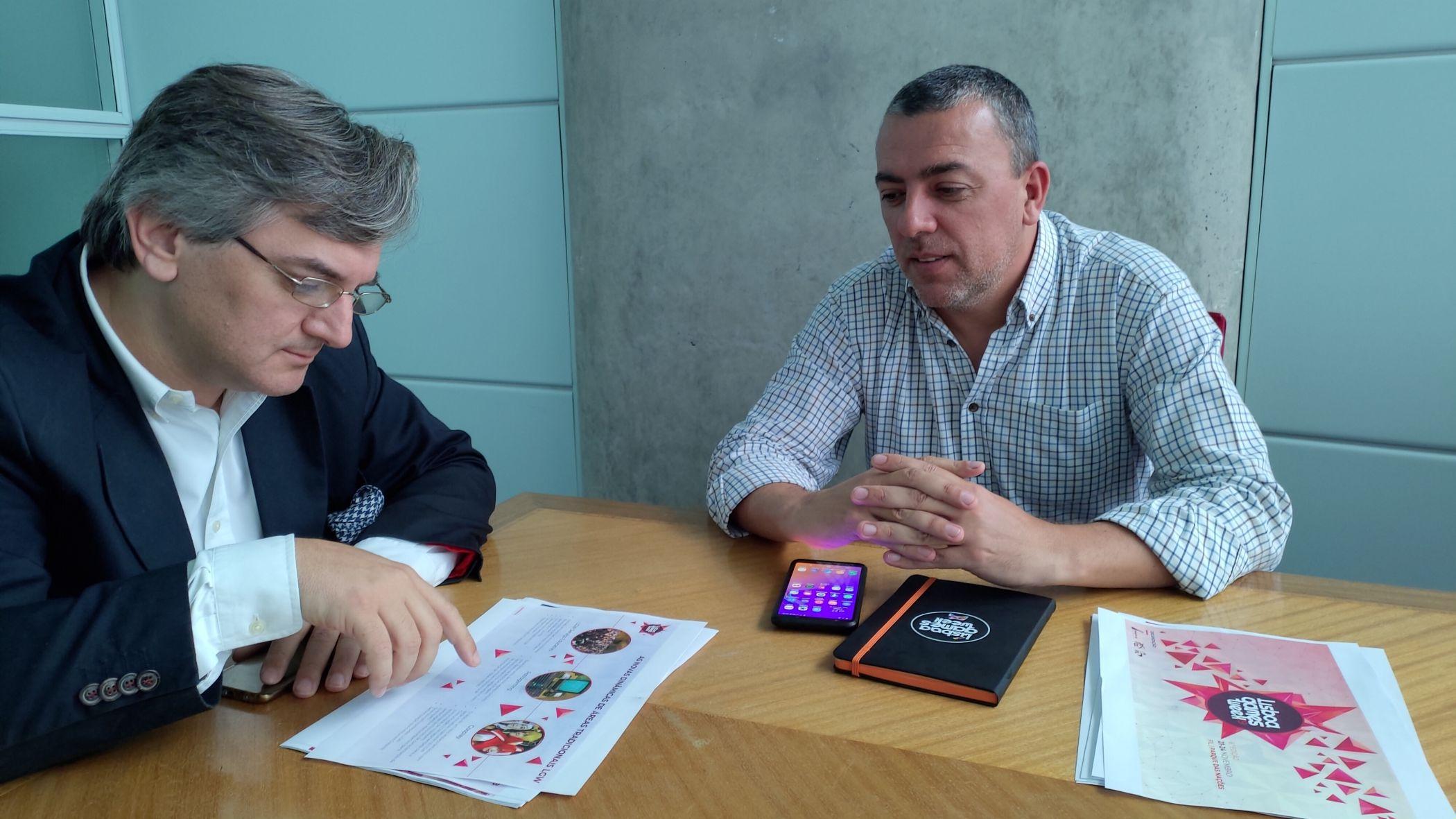 Pedro Braga ja Luis Pinto FIL-ist