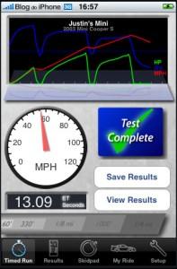 Dynolicious: rakendus teie auto jõudluse testimiseks