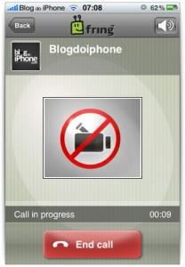 IPhone-iPhone-kõned ilma videota