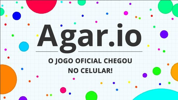 Reklaami pilt mängust Agar.io