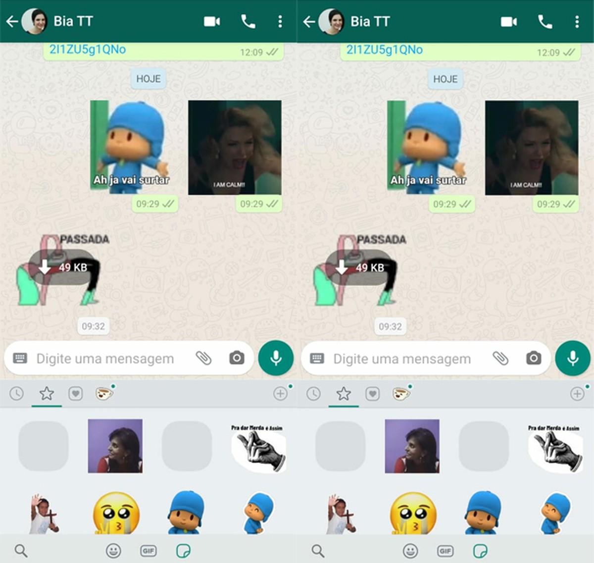 Kleebiseid ei kuvata teenuses WhatsApp?  Kasutajad on beetavigade üle kurtnud
