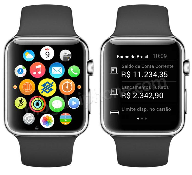 Banco do Brasil on Apple Watchile ette valmistanud rakenduse versiooni
