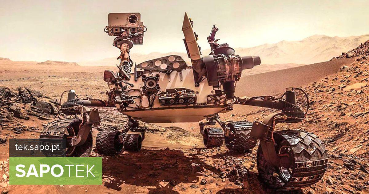 """Rover Curiosity uurib Marsi """"külmunud"""" maastikku"""