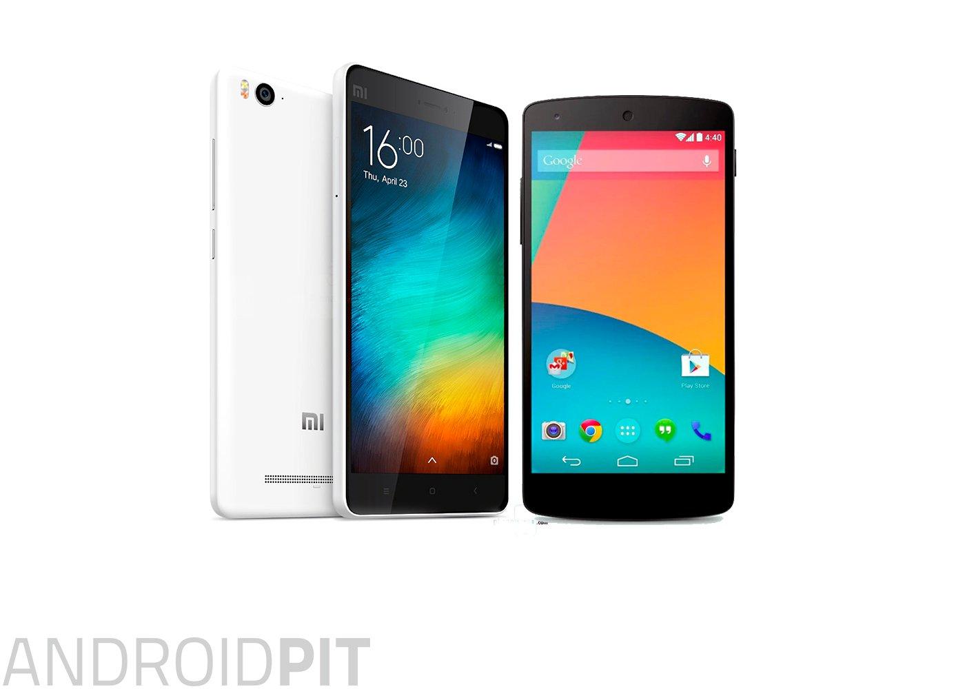 Xiaomi Mi 4i vs Nexus 5: veteran versus uustulnuk