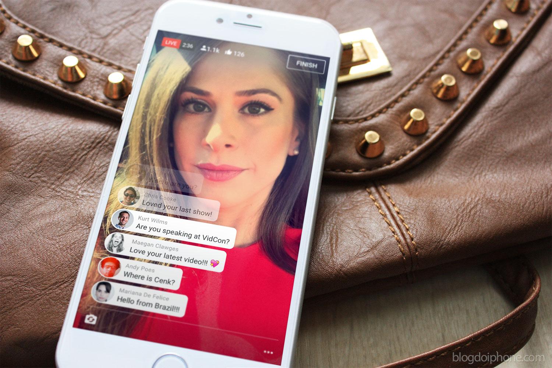 YouTube'i rakendus võimaldab otseülekandeid iPhone'ist