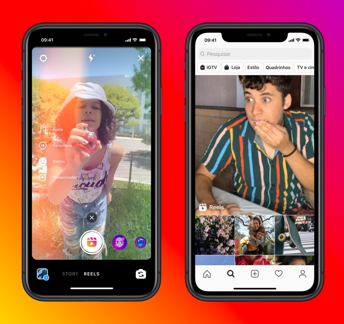 Instagrami rullid: funktsioon võimaldab teil luua TikToki stiilis loomingulisi videoid